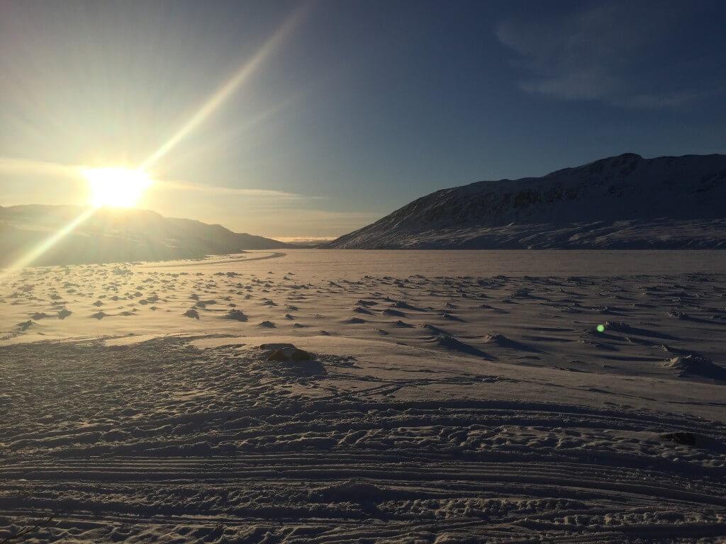 Grønland ACT hytten i svinget
