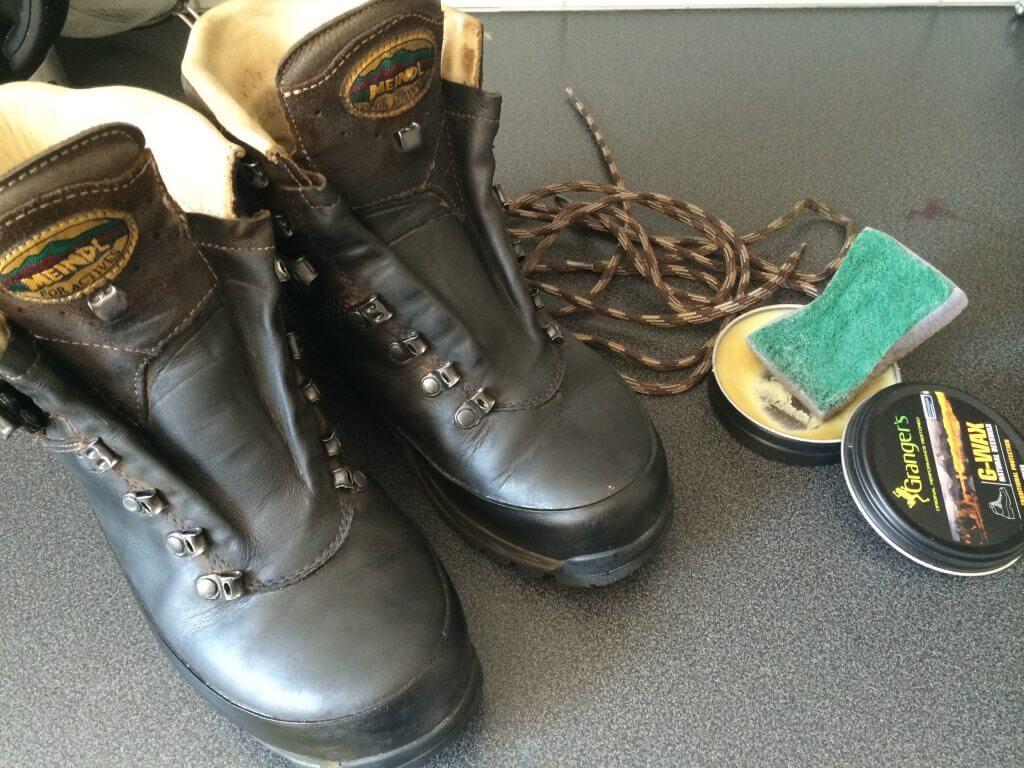 Nyplejede sko